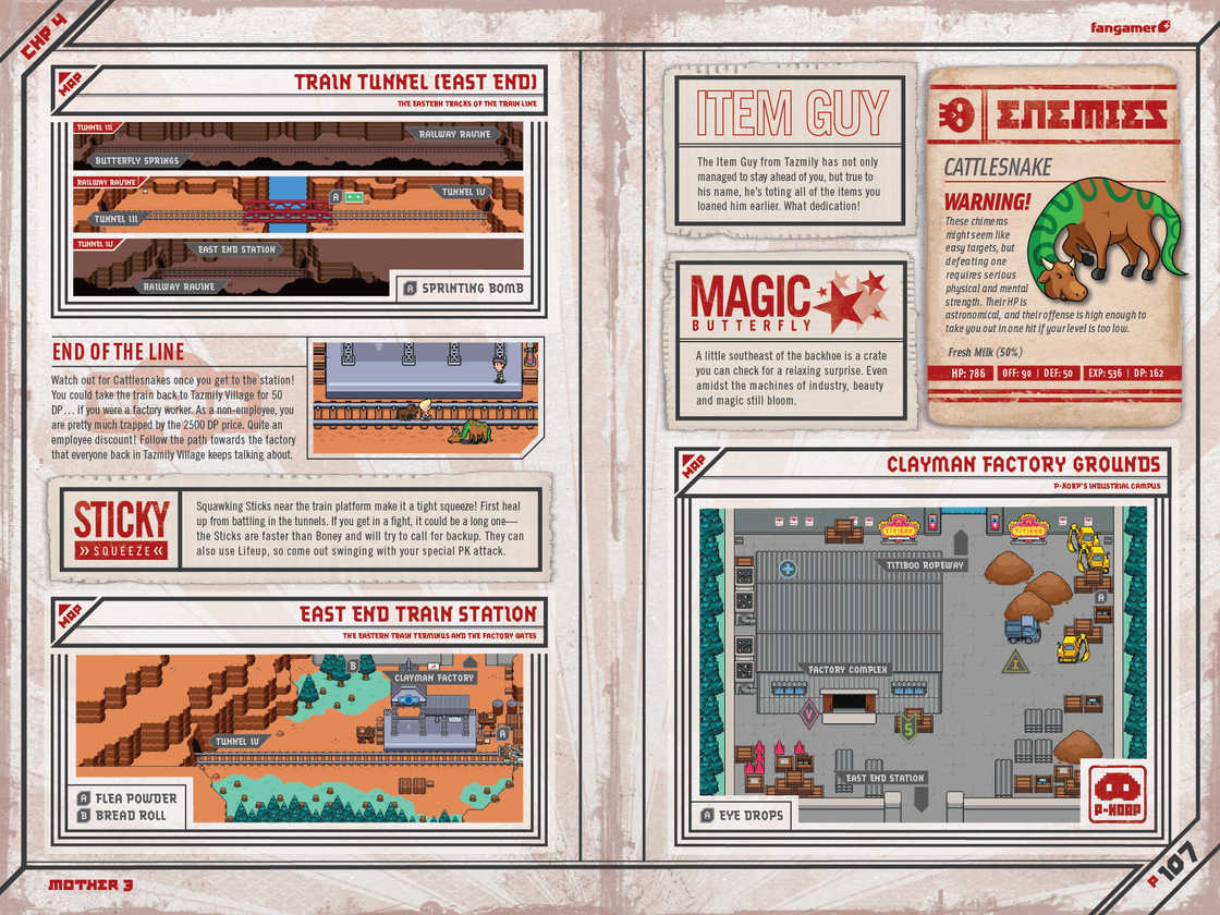 Mother 3 Handbook The English Gamers Guide To The World Of Mother 3
